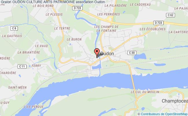 plan association Oudon Culture Arts Patrimoine