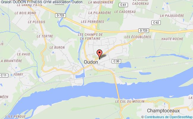 plan association Oudon Fitness Gym
