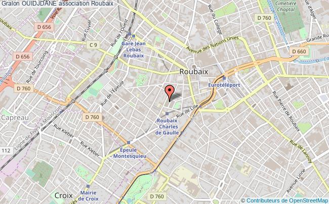 plan association Ouidjdane Roubaix