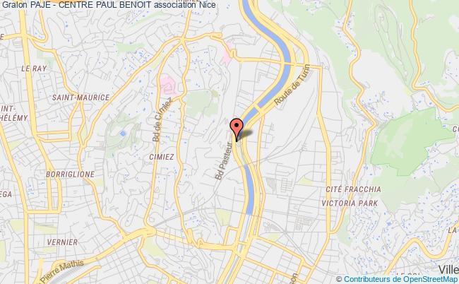 plan association Paje - Centre Paul Benoit
