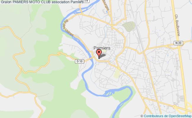plan association Pamiers Moto Club