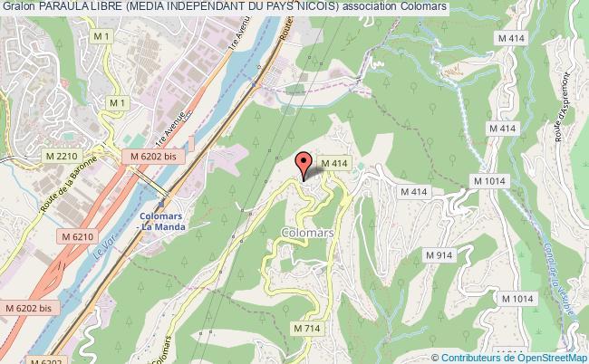 plan association Paraula Libre (media Independant Du Pays Nicois)