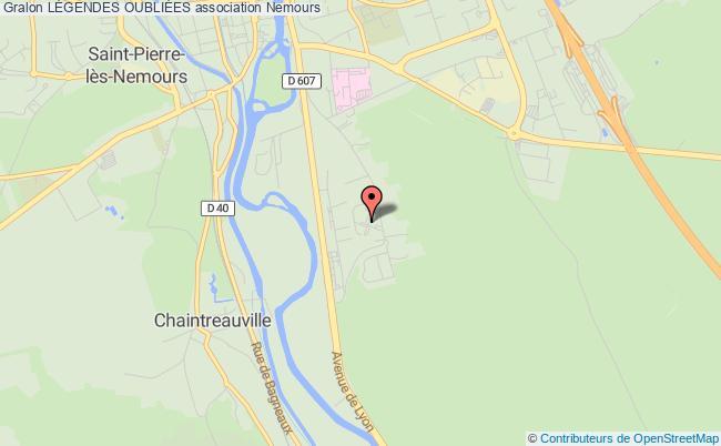 plan association Parc MÉdiÉval Des Sources Souppes-sur-Loing