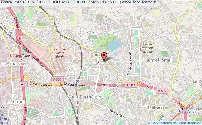 plan association Parents Actifs Et Solidaires Des Flamants (p.a.s.f.)
