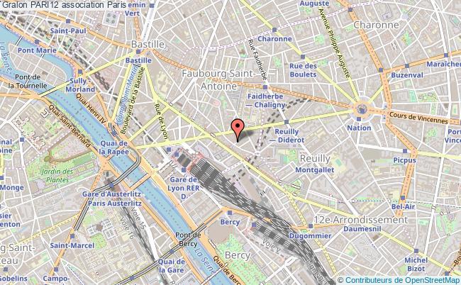plan association Pari12 Paris