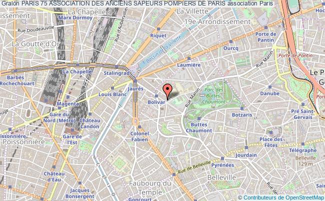 plan association Paris 75 Association Des Anciens Sapeurs Pompiers De Paris