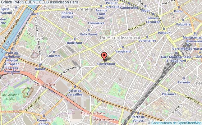 plan association Paris Ebene Club Paris 15e