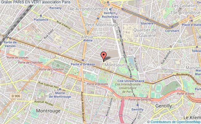 plan association Paris En Vert