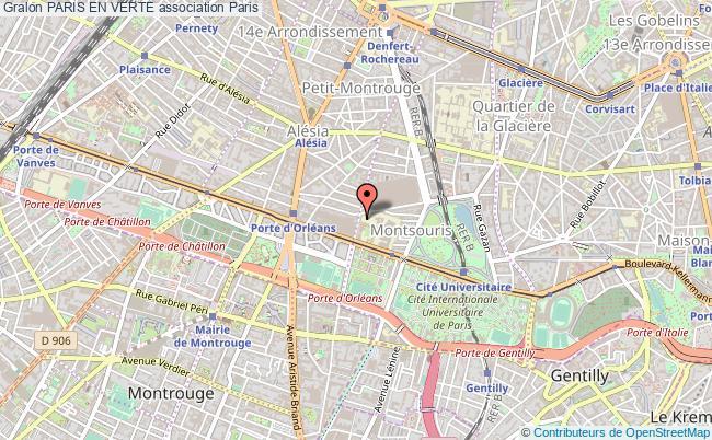 plan association Paris En Verte