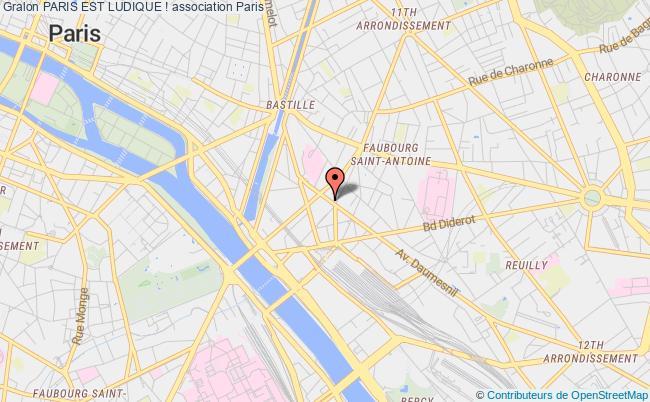 plan association Paris Est Ludique !