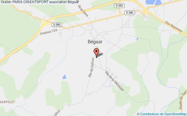 plan association Paris Orientsport