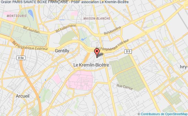 plan association Paris Savate Boxe FranÇaise - Psbf Paris 12e