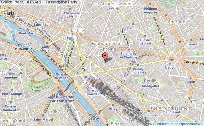 plan association Paris Si L?art... ! Paris