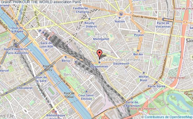 plan association Parkour The World Paris