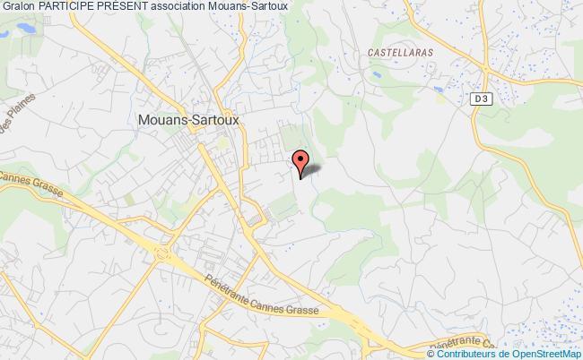 plan association Participe PrÉsent Mouans-Sartoux
