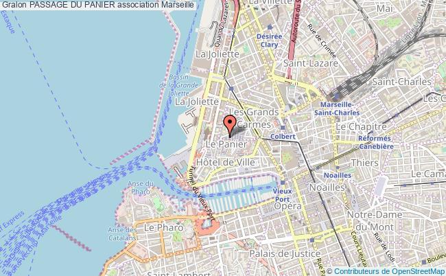 plan association Passage Du Panier