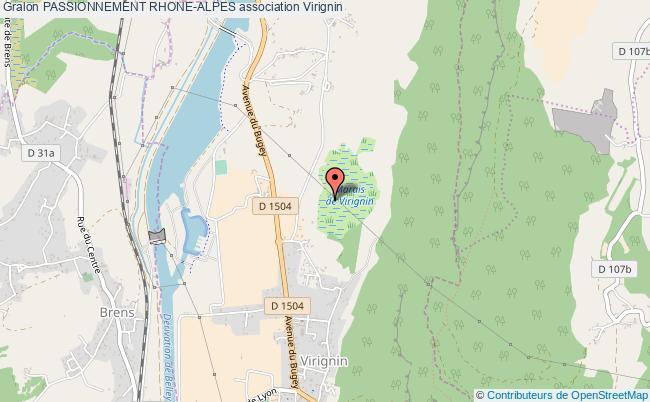 plan association Passionnement Rhone-alpes