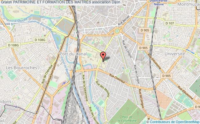 plan association Patrimoine Et Formation Des Maitres