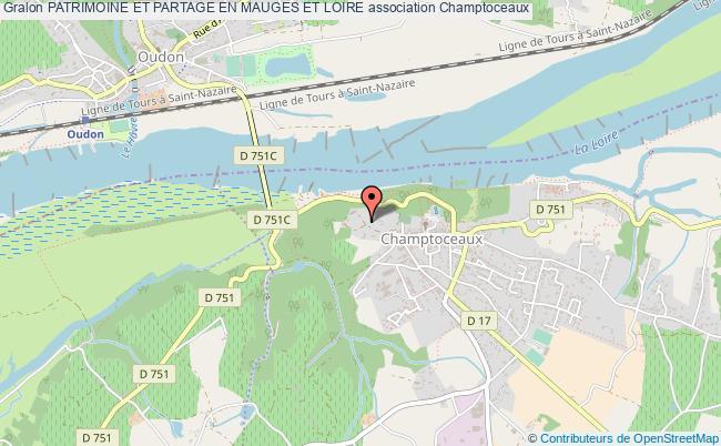 plan association Patrimoine Et Partage En Mauges Et Loire