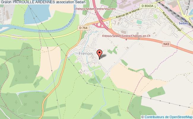 plan association Patrouille Ardennes