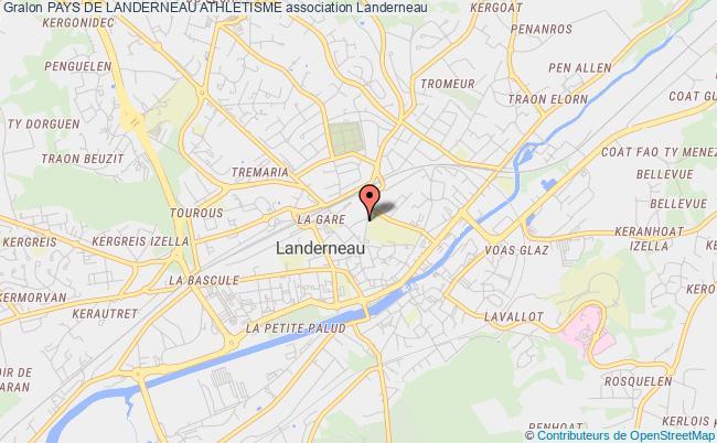 plan association Pays De Landerneau Athletisme