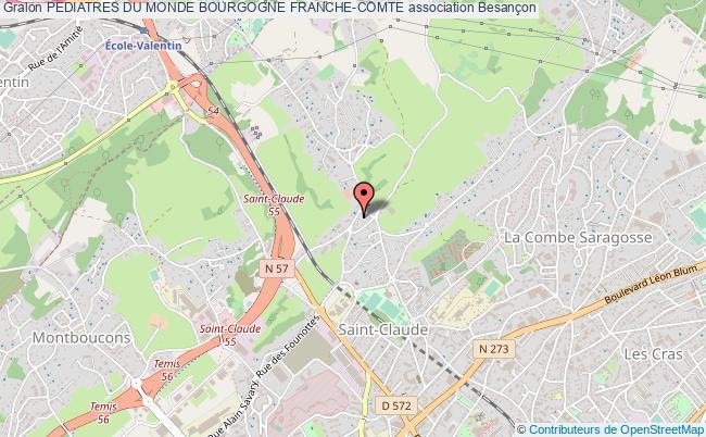 plan association Pediatres Du Monde Bourgogne Franche-comte