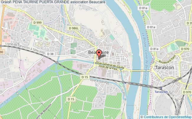 plan association Pena Taurine Puerta Grande