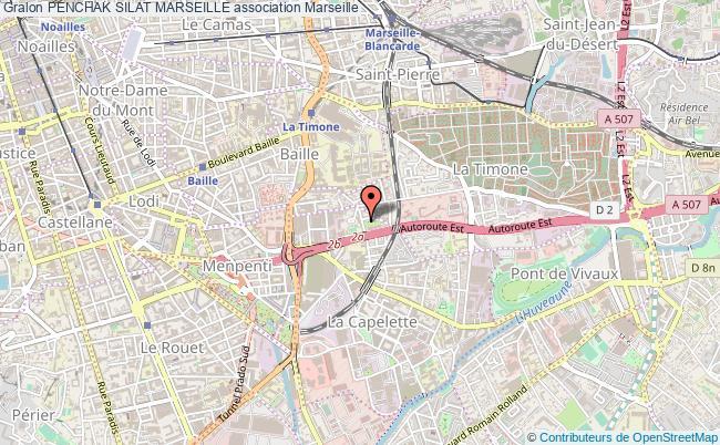 plan association Penchak Silat Marseille