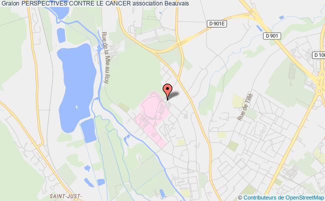 plan association Perspectives Contre Le Cancer Beauvais