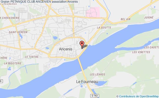 plan association Petanque Club Ancenien