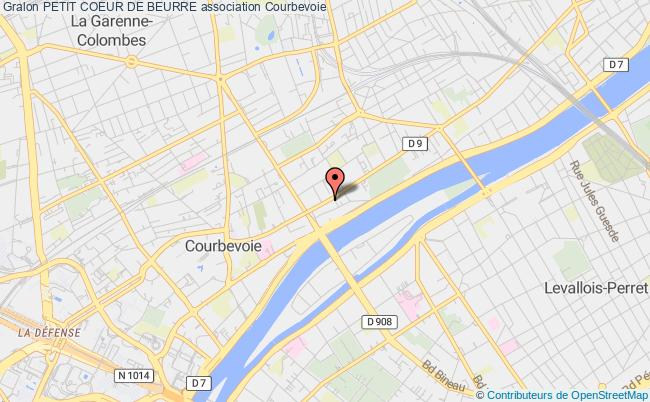 plan association Petit Coeur De Beurre Courbevoie