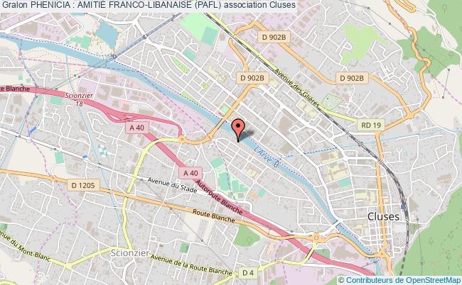 plan association Phenicia : AmitiÉ Franco-libanaise (pafl)