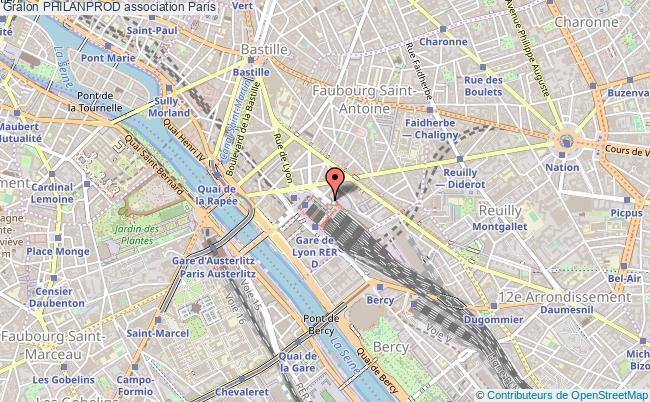 plan association Philanprod Paris