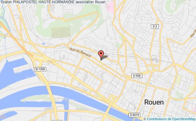 plan association Philapostel Haute-normandie Rouen