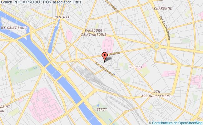 plan association Philia Production Paris
