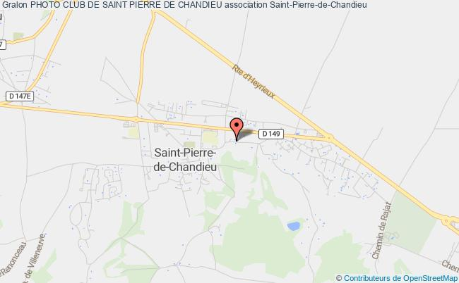 plan association Photo Club De Saint Pierre De Chandieu Saint-Pierre-de-Chandieu