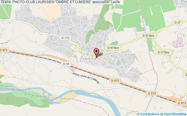 plan association Photo-club Laurisien 'ombre Et Lumiere'