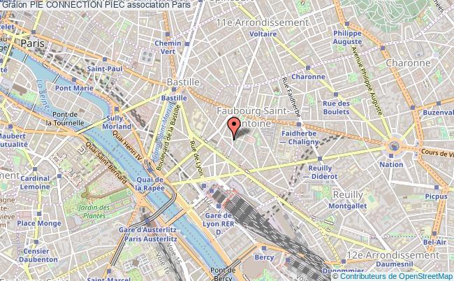 plan association Pie Connection Piec Paris