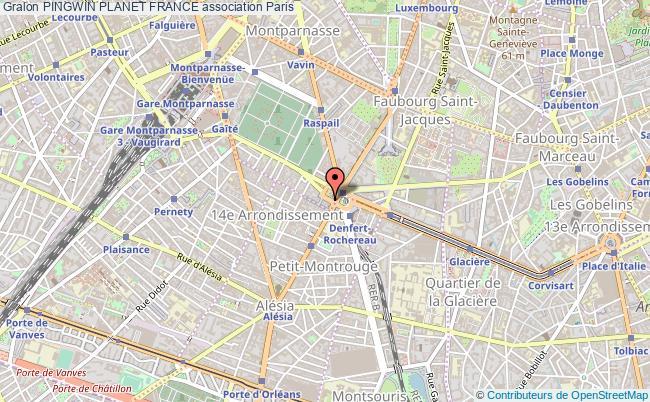plan association Pingwin Planet France