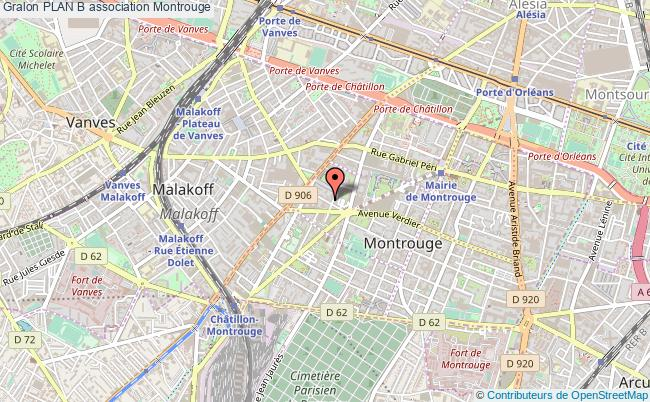 plan association Plan B Montrouge