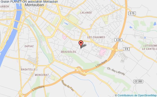 plan association Planet-on Castanet-Tolosan