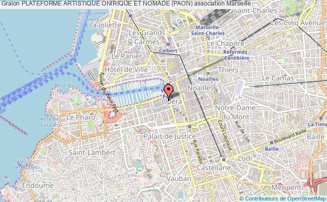 plan association Plateforme Artistique Onirique Et Nomade (paon)