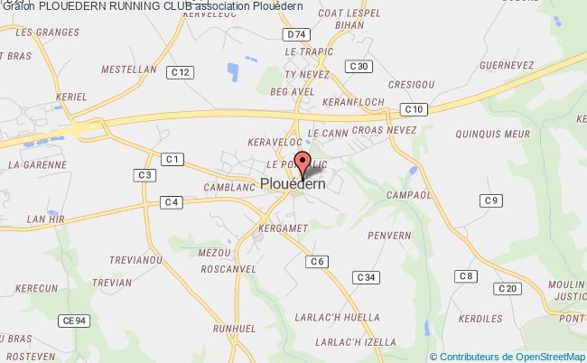 plan association Plouedern Running Club