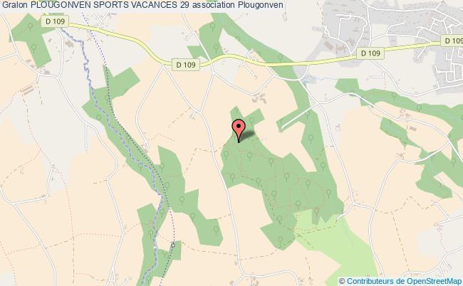 plan association Plougonven Sports Vacances 29