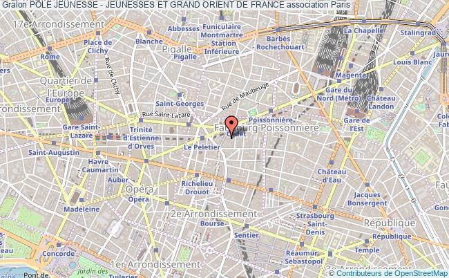 plan association PÔle Jeunesse - Jeunesses Et Grand Orient De France