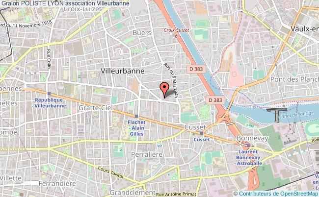 plan association Poliste Lyon