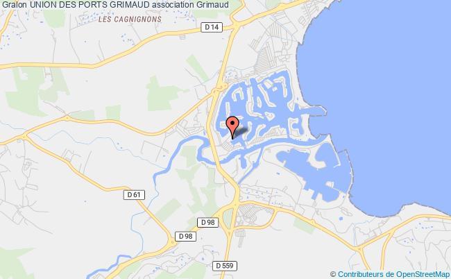 plan association Port Grimaud Union