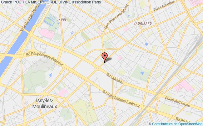 plan association Pour La Misericorde Divine Paris