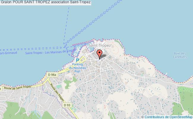 plan association Pour Saint Tropez