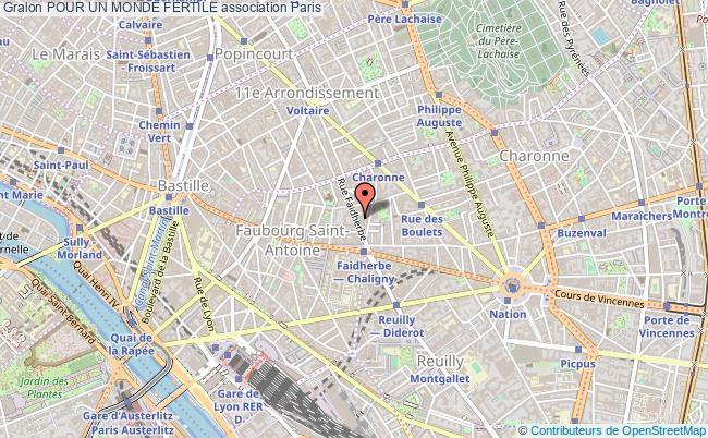plan association Pour Un Monde Fertile Paris
